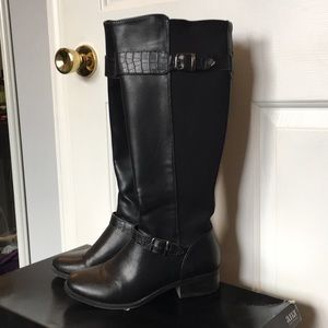 A.N.A. Selena riding boots in black size 7 M